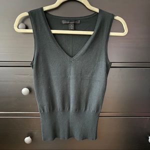 Express Black Sweater Vest XS